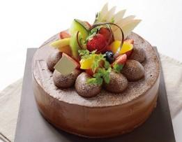 チョコデコ フルーツ